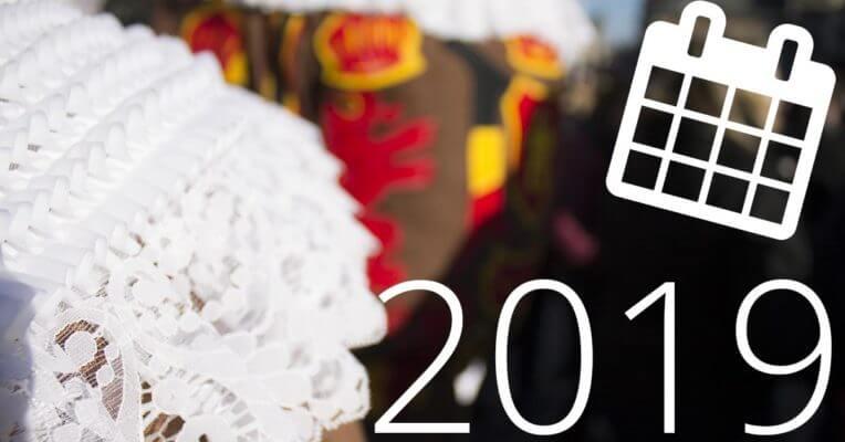 calendrier carnavals 2019
